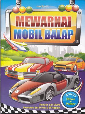 Mewarnai Mobil Balap Media Kita