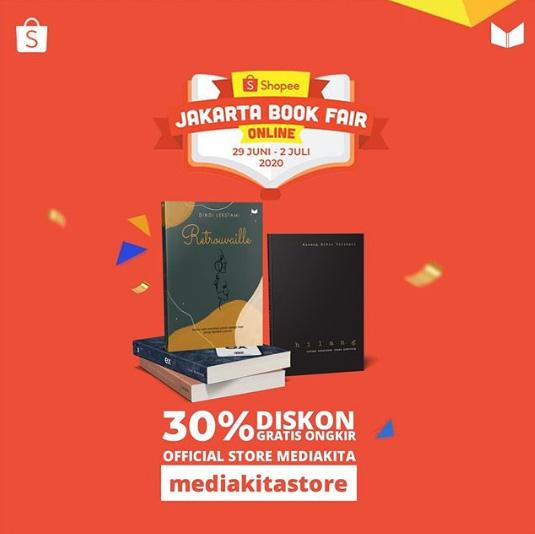 Jakarta Book Fair Daring Mediakita Shopee